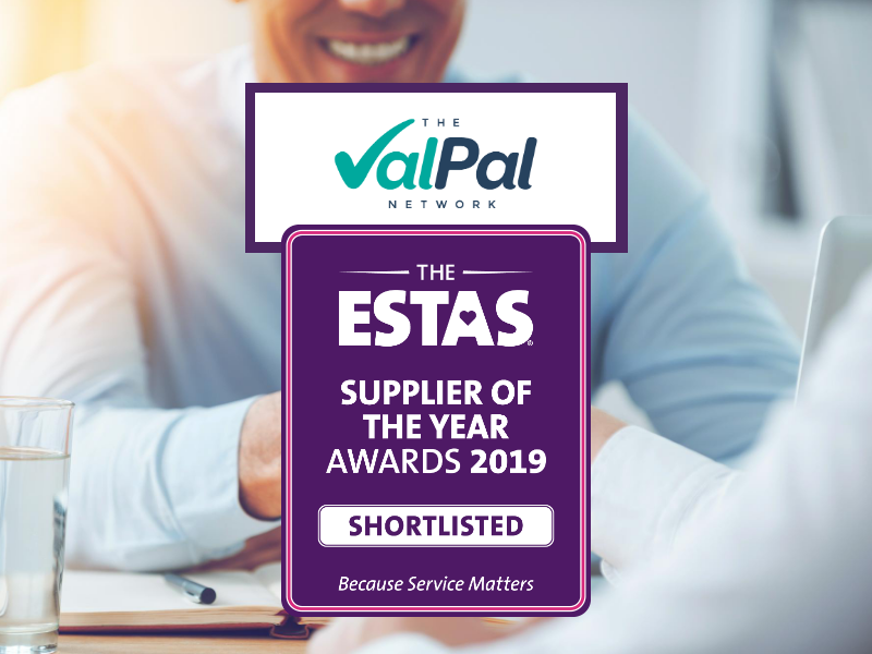 The ValPal Network goes for hat-trick after being shortlisted for ESTAS 2019 supplier award
